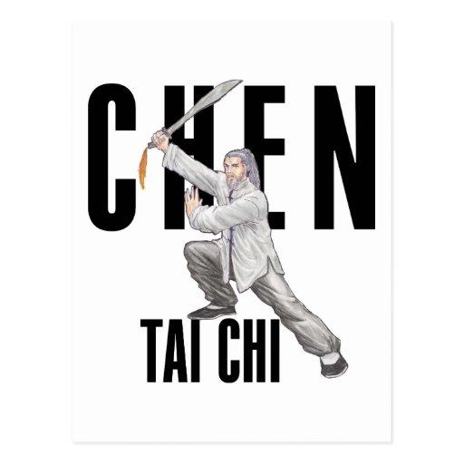 Chen Tai Chi Postcard