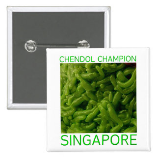 Chendol Champion - Singapore Button