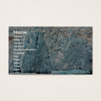 Chenega Glacier Business Card