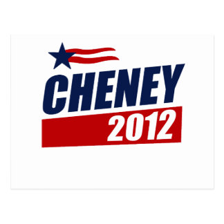 CHENEY 2012 POST CARD