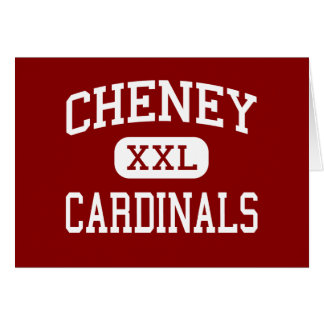 Cheney - Cardinals - High School - Cheney Kansas Greeting Cards