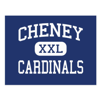 Cheney Cardinals Middle School Cheney Kansas Postcard