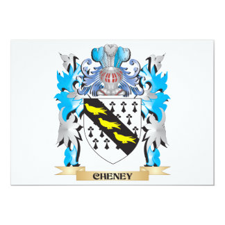 Cheney Coat of Arms - Family Crest Custom Announcement