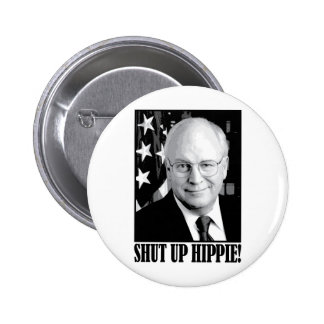 Cheney encierró al hippie pin