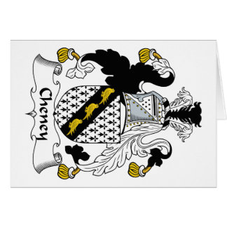 Cheney Family Crest Greeting Cards