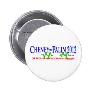Cheney Palin 2012 Pin