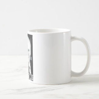 Cheney shut up hippie coffee mug
