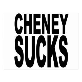 Cheney Sucks Post Card
