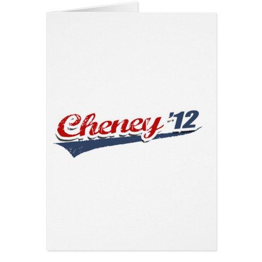 Cheney Team Card