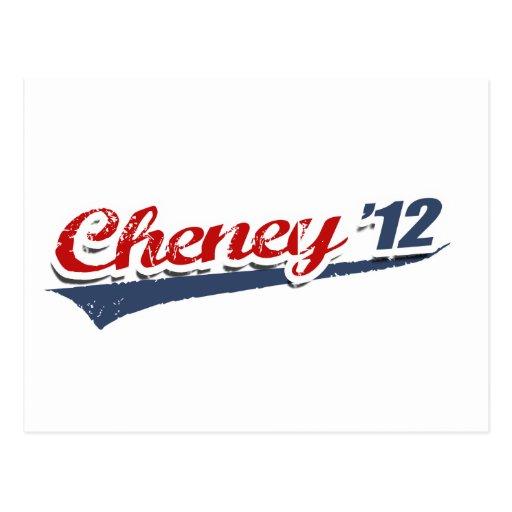 Cheney Team Post Card