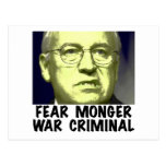 Cheney War Criminal Postcards