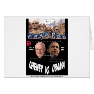 CheneyObamaPoster Card