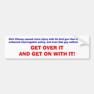Cheney's Bird Gun Bumper Sticker