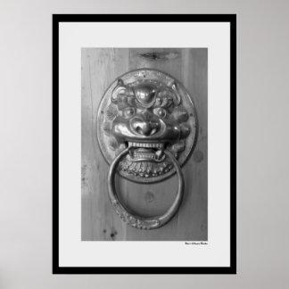 Cheng Men Door Print