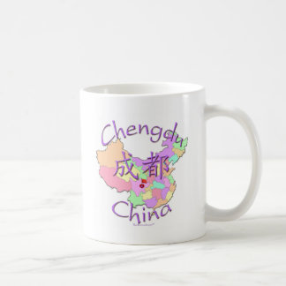 Chengdu China Taza Clásica