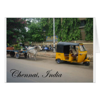 Chennai, India Card