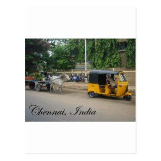 Chennai, la India Postales