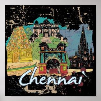 Chennai Posters