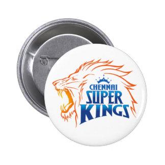 Chennai Super Kings 2 Inch Round Button