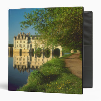 Chenonceau Chateau, Loire Valley, 3 Ring Binder