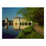 Chenonceau Chateau, Loire Valley, Poster