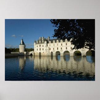 Chenonceau Chateau, River Cher, Loir-et-Cher, 2 Poster
