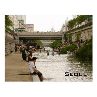 Cheonggye Stream Postcard