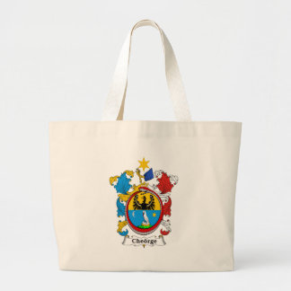 Cheorge Family Hungarian Coat of Arms Canvas Bag