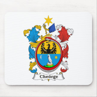 Cheorge Family Hungarian Coat of Arms Mouse Pad