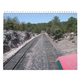 Chepe, Copper Canyon and Surrounding Areas Calendar