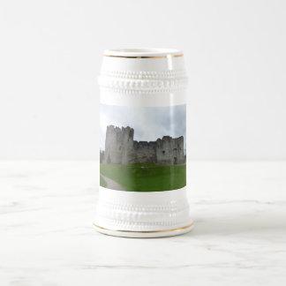 Chepstow Castle Wales Beer Mugs. Beer Stein