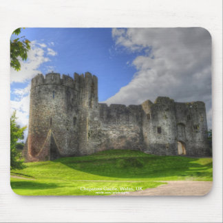 Chepstow Castle, Wye Valley, Monmouthshire, Wales Mouse Pads