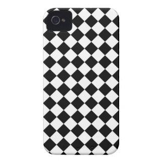 ChequerBoard (White/Black) Blackberry Case