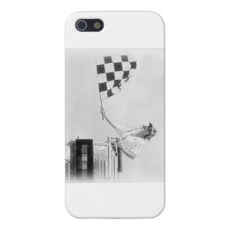 """Chequered Flag"" by Flagman Cover For iPhone 5/5S"