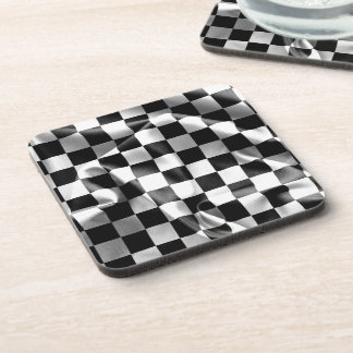 Chequered Flag Drinks Coasters