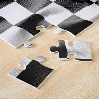 Chequered Flag Jigsaw Puzzle