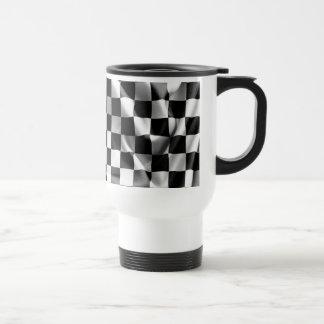 Chequered Flag Travel Mug