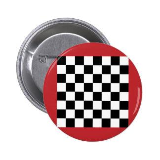 Chequered   Morocco, Morocco Pinback Button