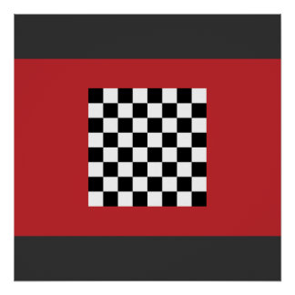Chequered   Morocco, Morocco Posters