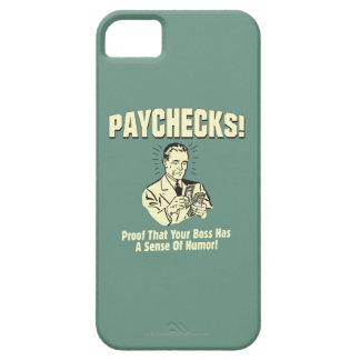 Cheques: Sentido del humor iPhone 5 Fundas