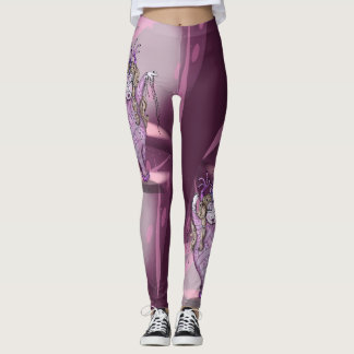 CHER ALIEN DANCE CARTOON Leggings