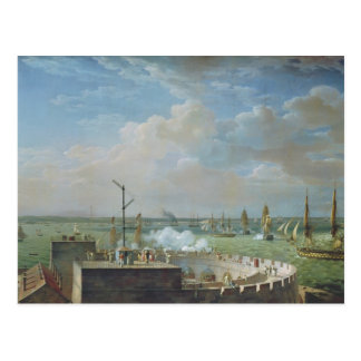 Cherbourg Harbour 1822 Postcards