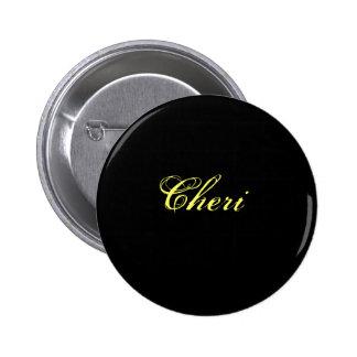 Cheri Pinback Buttons