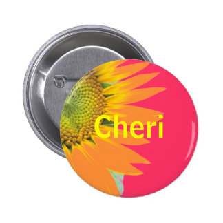 Cheri Pinback Button