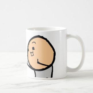 Cheri D. Kent bebo el café… Taza Clásica
