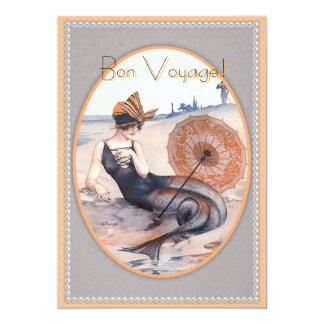 Cheri Herouard Mermaid & Beach Invitation Card 5x7
