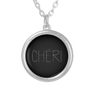 CHERI SILVER PLATED NECKLACE