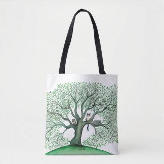 Cheri Whimsical Cats in Trees Bag