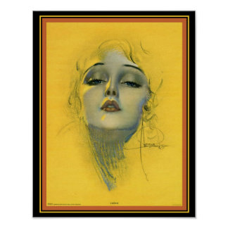 """""""Cherie"""" Deco Print- Rolf Armstrong (1929) 11 x 14 Poster"""