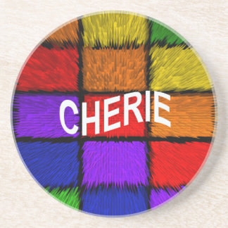 CHERIE DRINK COASTER